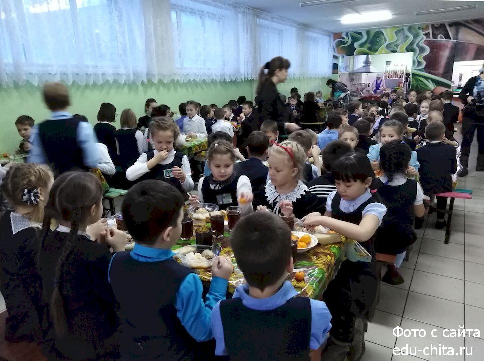 В Забайкалье с завтрашнего дня почти в два раза увеличат расходы на бесплатное питание школьников